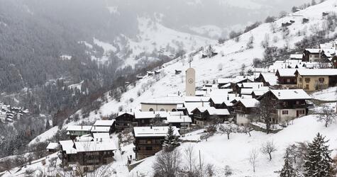 Schweizer Dorf Albinen wirbt um Mitbewohner