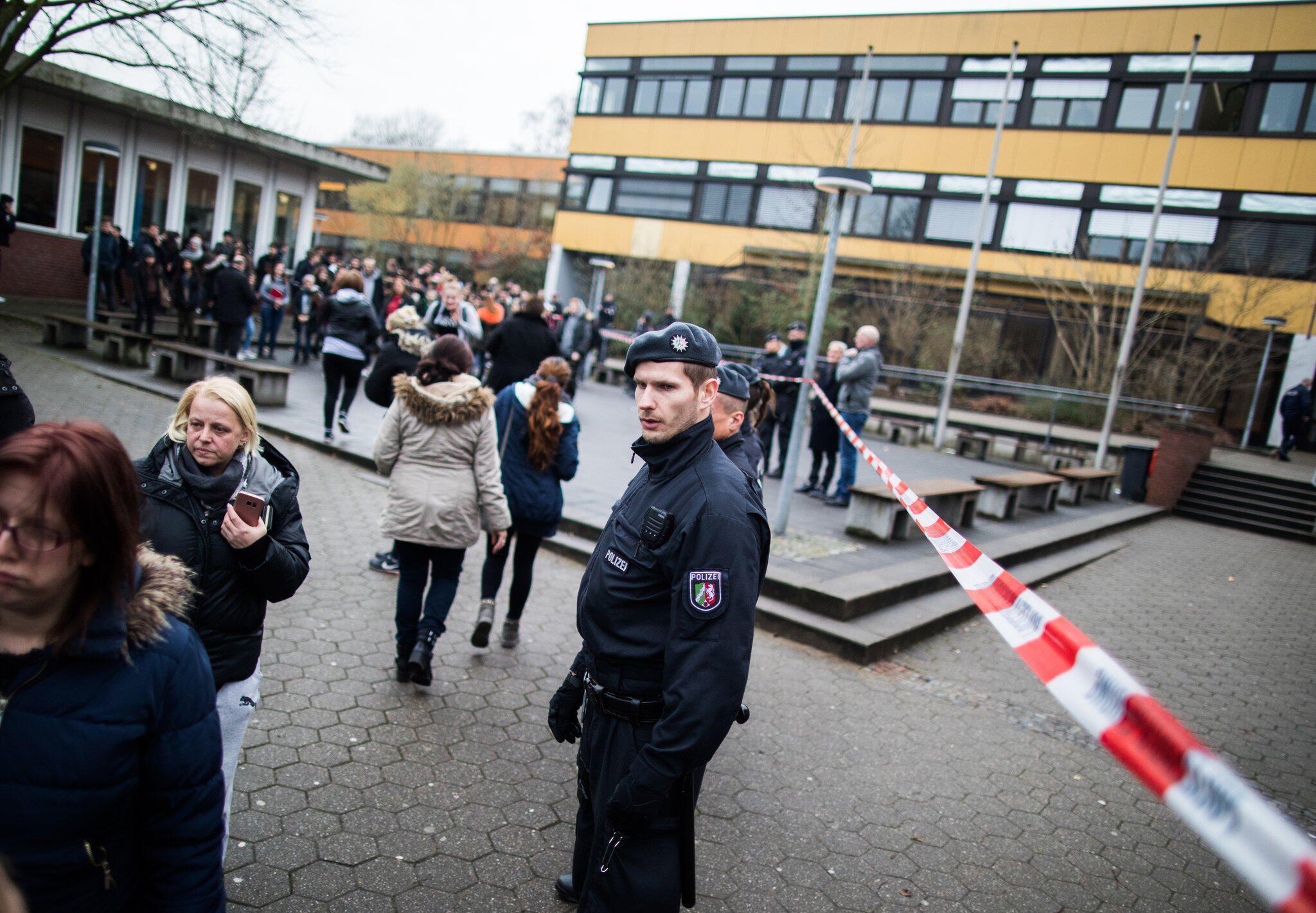 Bild zu Pupil killed in Luenen