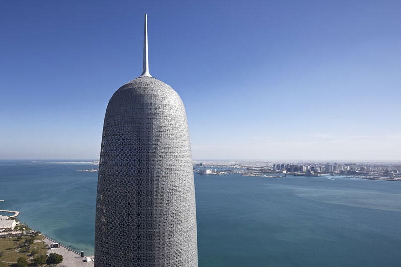 Bild zu Platz 3: Burj Qatar, Doha, Katar