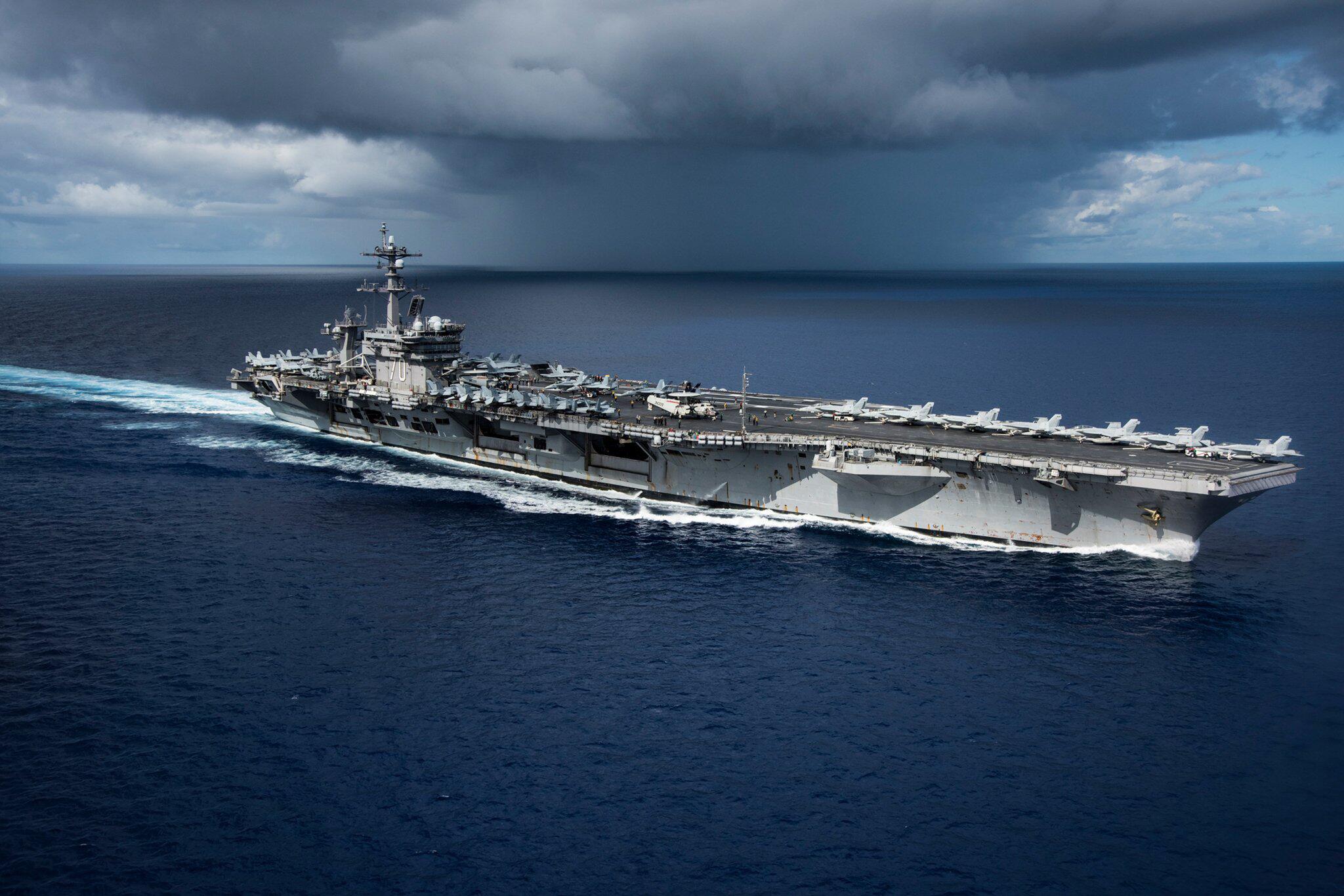 Bild zu US-Flugzeugträger