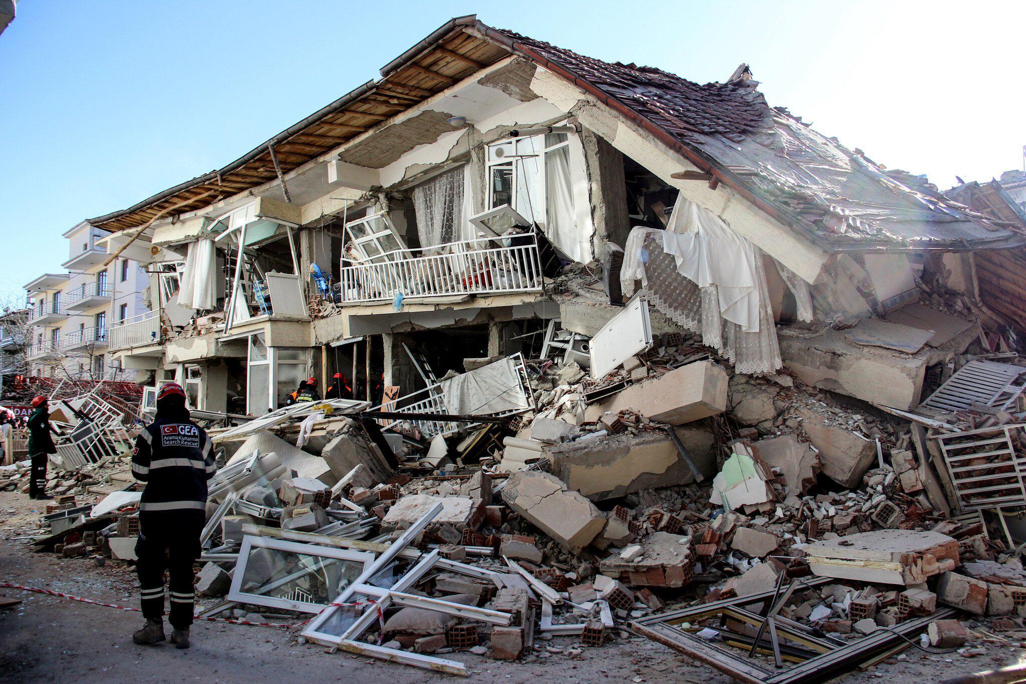 Bild zu Schweres Erdbeben in der Osttürkei