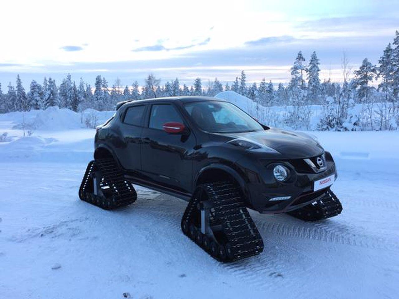 Bild zu Nissan Juke Nismo RSsnow