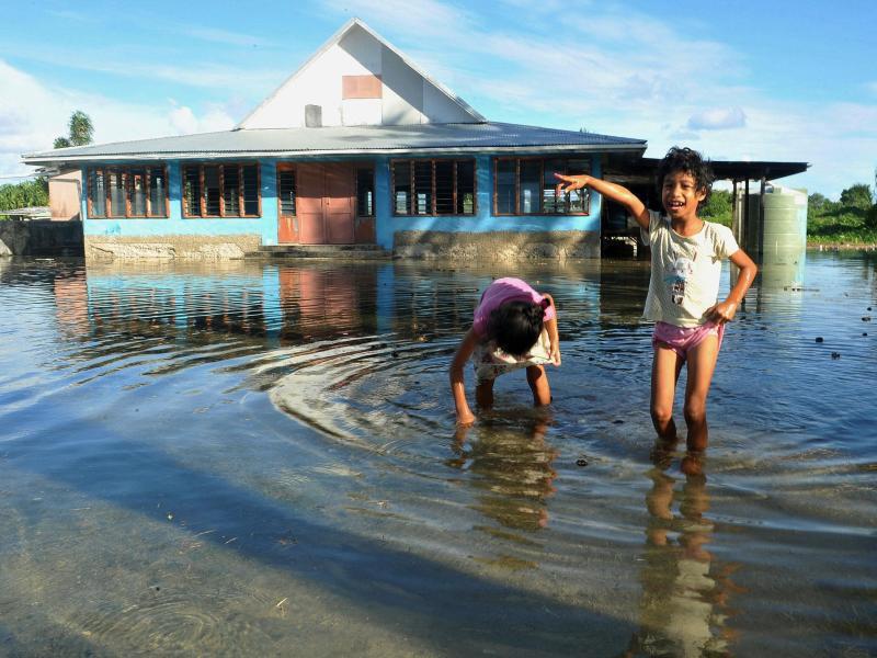 Bild zu Flut in Tuvalu