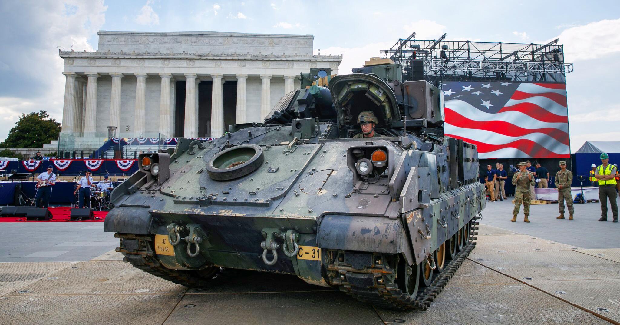 Bild zu Vor dem Unabhängigkeitstag in den USA