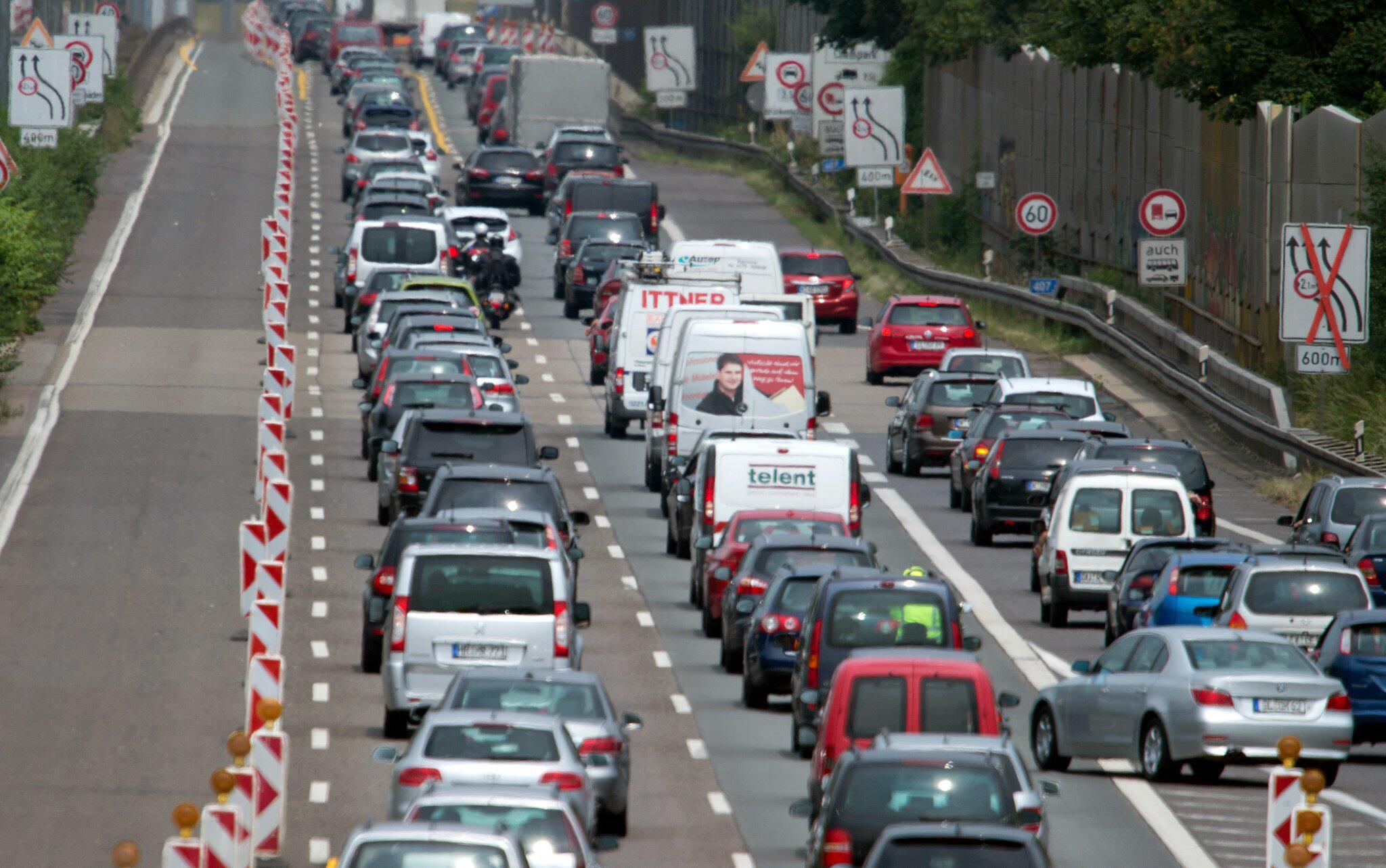 Bild zu Baustelle auf NRW-Autobahn