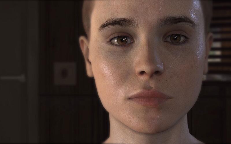 "Bild zu Ellen Page in ""Beyond: Two Souls"""