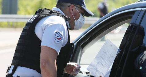 Thionville, Moselle, Grenze, Polizei, Präfekt, Kontrolle, Frankreich. Luxemburg, Didier Martin, 2020