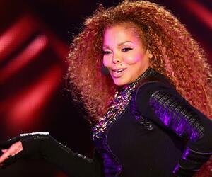 Janet Jackson, 50 Jahre, Schwanger