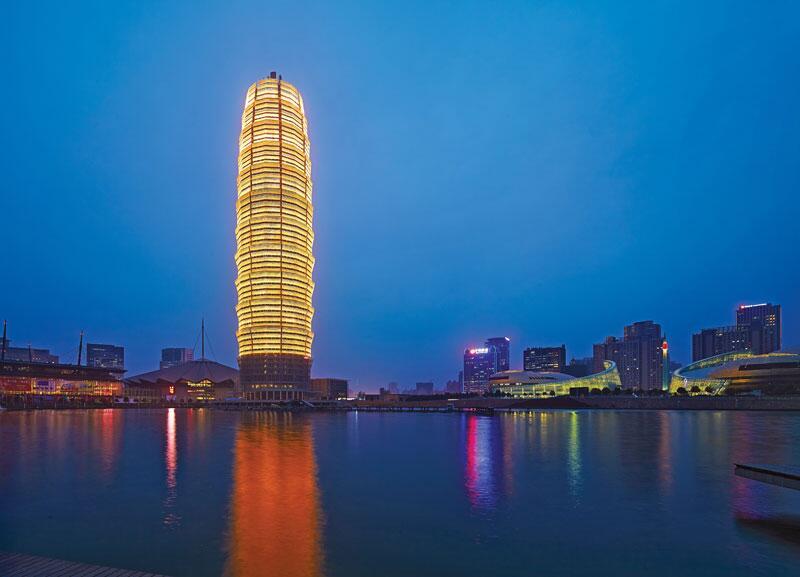 Bild zu Platz 9: Zhengzhou Greenland Plaza, Zhengzhou, China