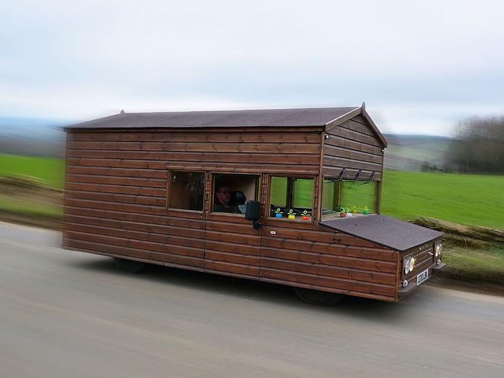 Bild zu Die schnellste Hütte der Welt