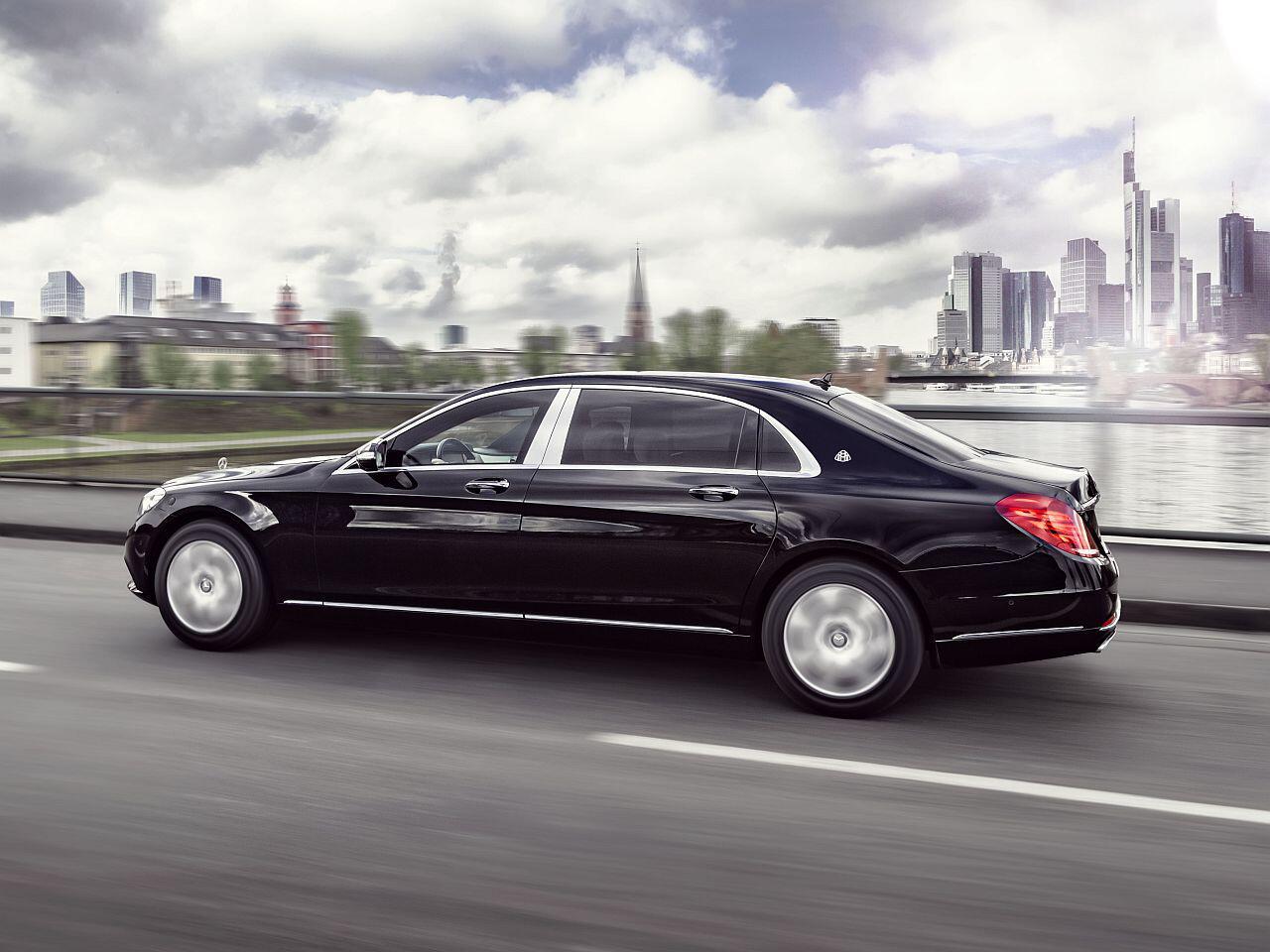 Bild zu Mercedes-Maybach S 600 Guard