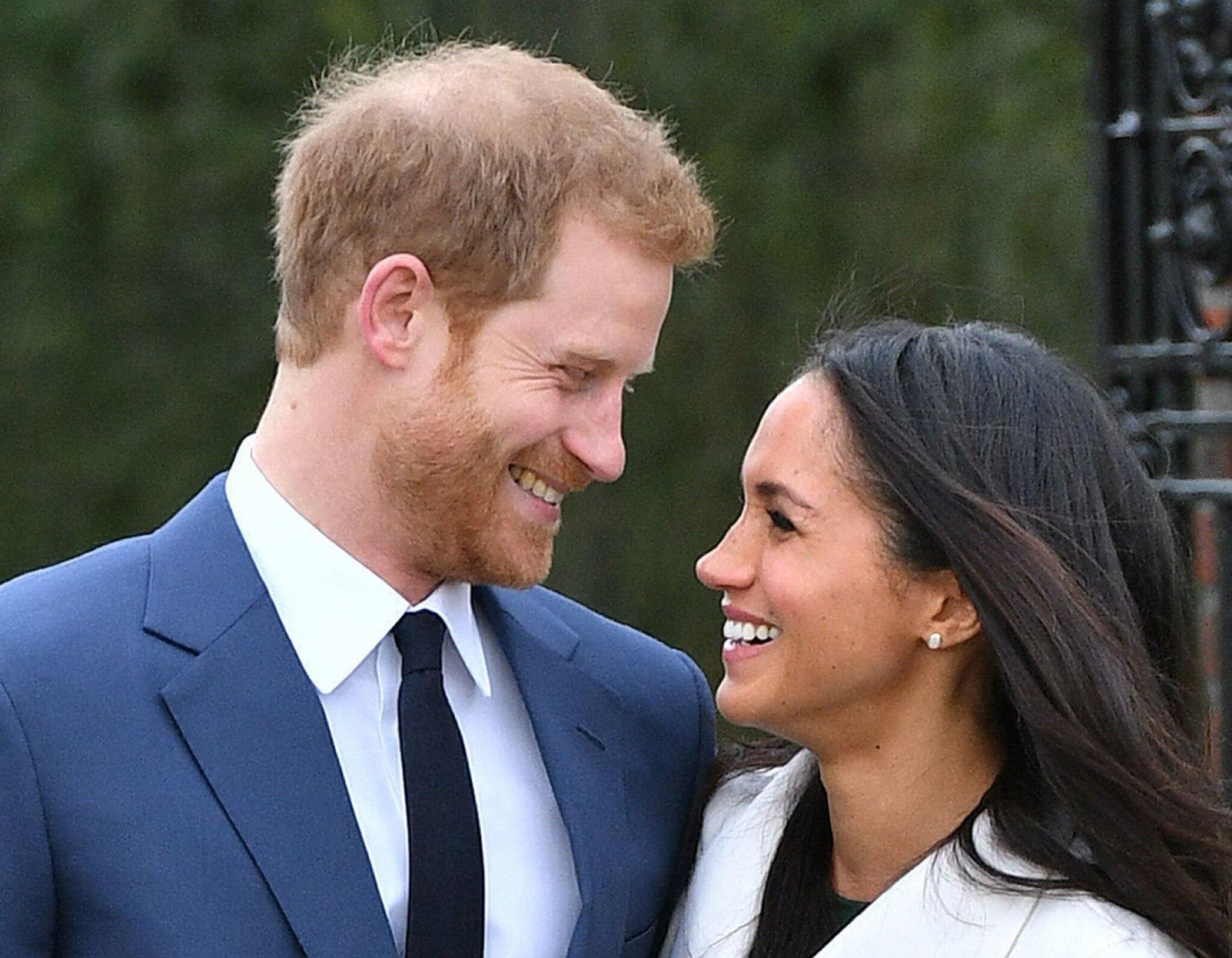 Bild zu Meghan Markle und Prinz Harry
