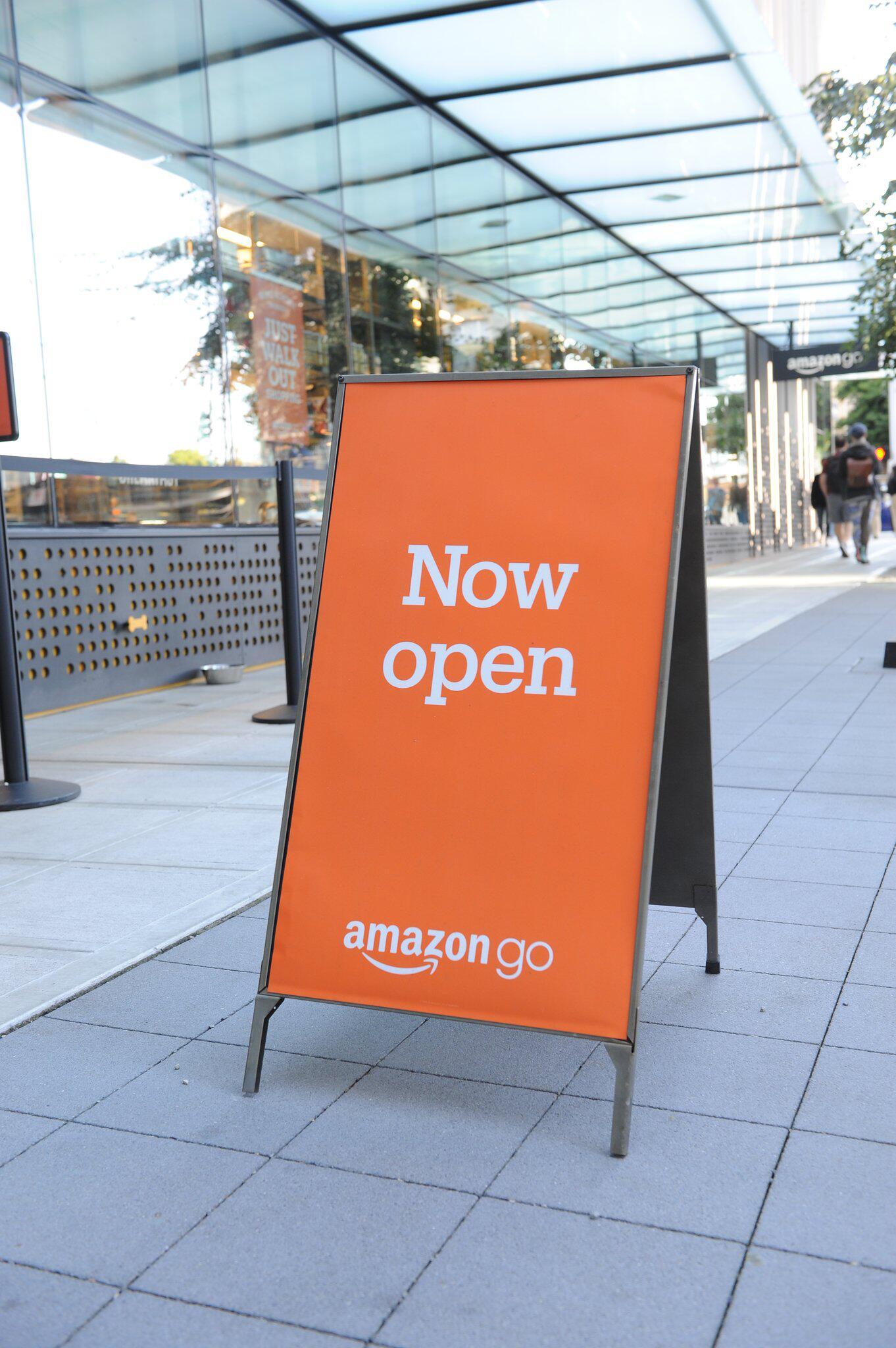 """Bild zu Supermarkt """"Amazon Go"""""""