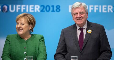 Election campaign CDU Hesse