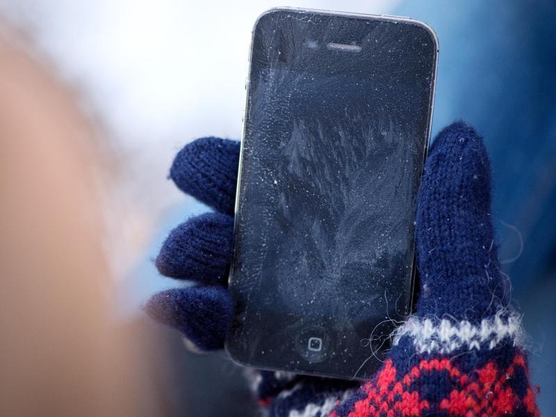 Bild zu Technikfrust durch Frost