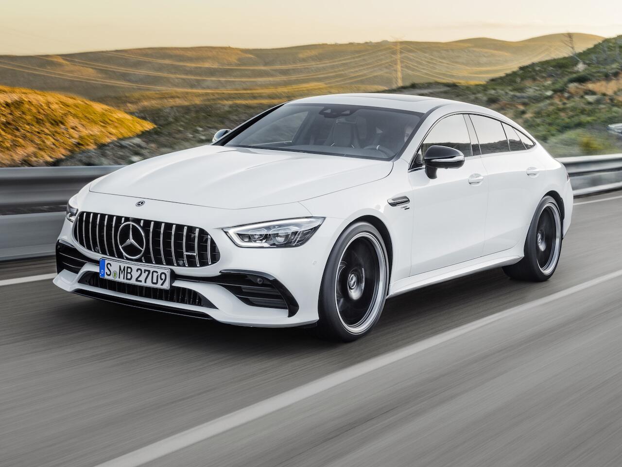 Bild zu Mercedes-AMG GT 4-Türer Coupé