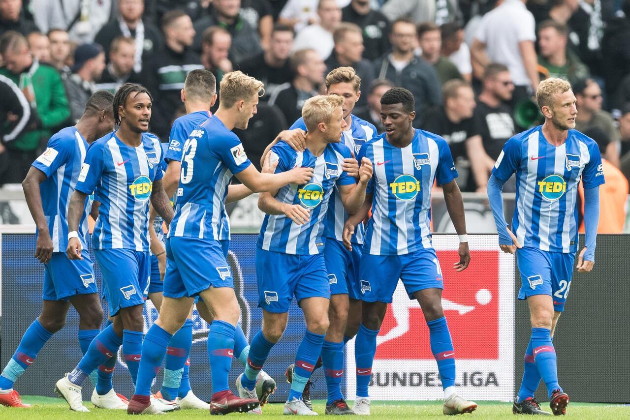 Bild zu Hertha BSC - Borussia Mönchengladbach 4:2
