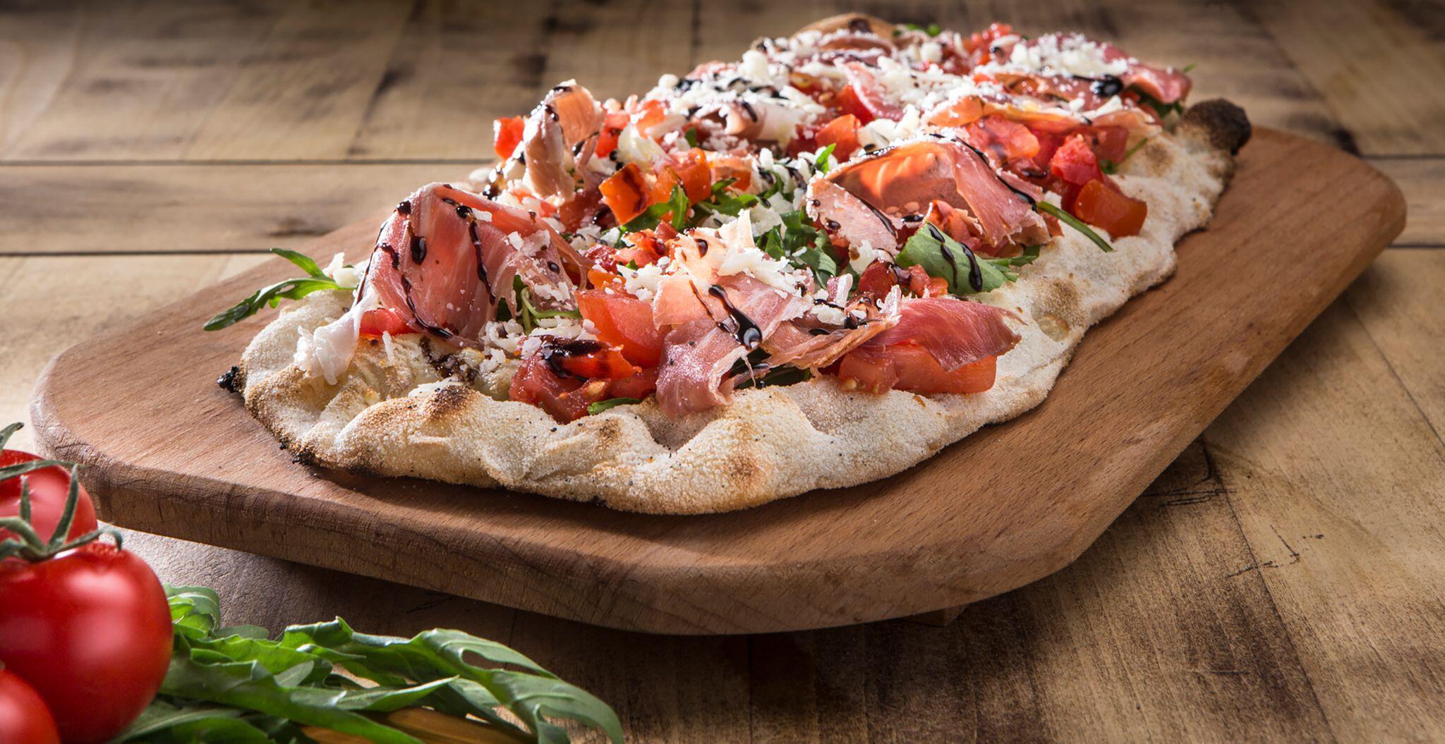 Bild zu Pinsa, Pizza, Unterschied