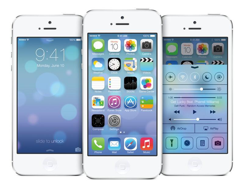 Bild zu iOS 7