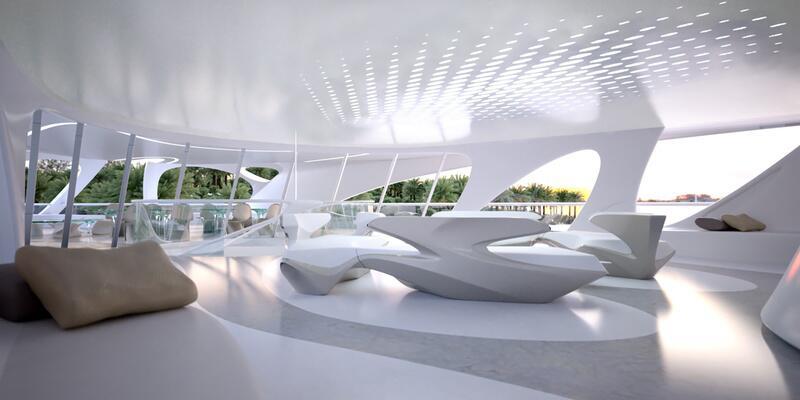 Bild zu Lounge mit Außenterrasse