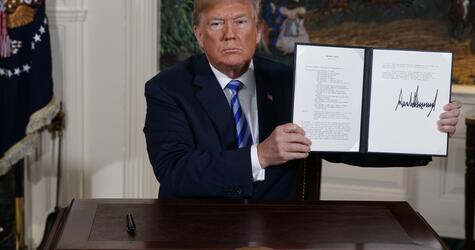 USA steigen aus Atomabkommen mit dem Iran aus