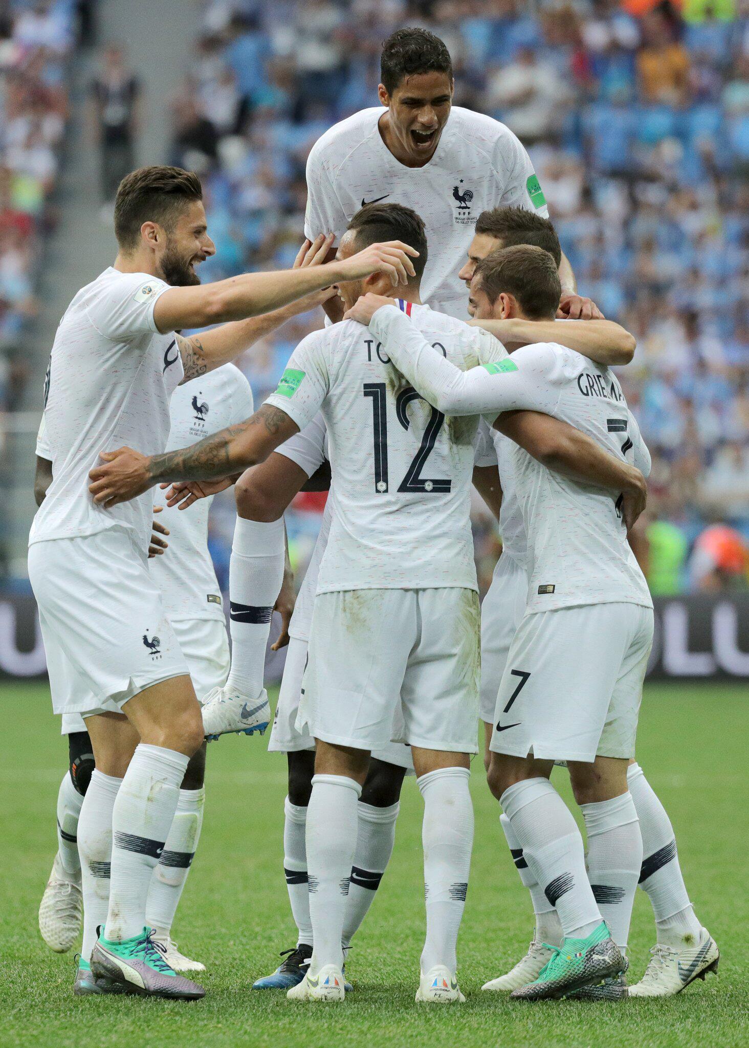 Bild zu WM 2018 - Uruguay - Frankreich
