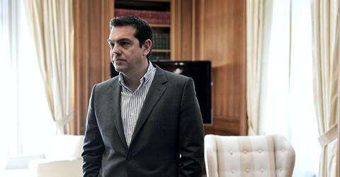 Griechenlands Regierungschef Tsipras