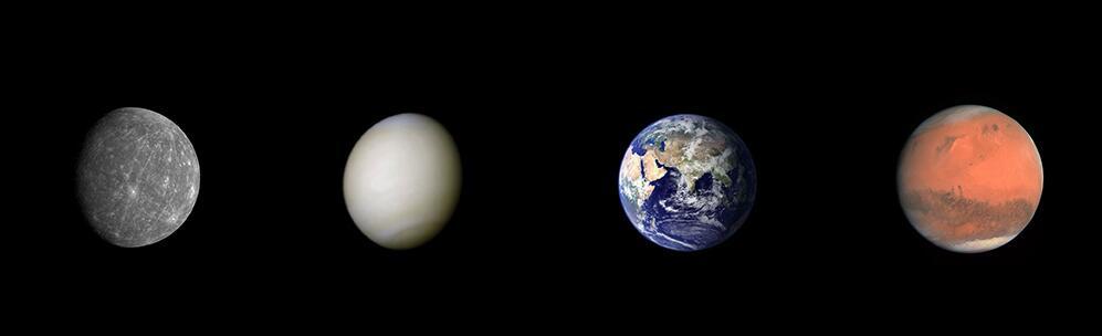 Bild zu Innere Planeten