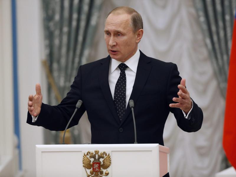 Bild zu Wladimir Putin