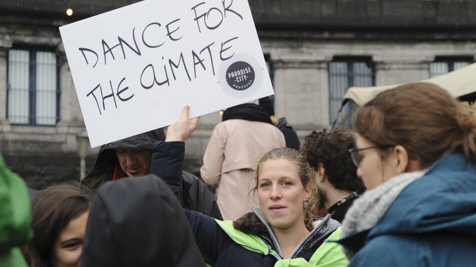 Demonstration vor UN-Klimakonferenz