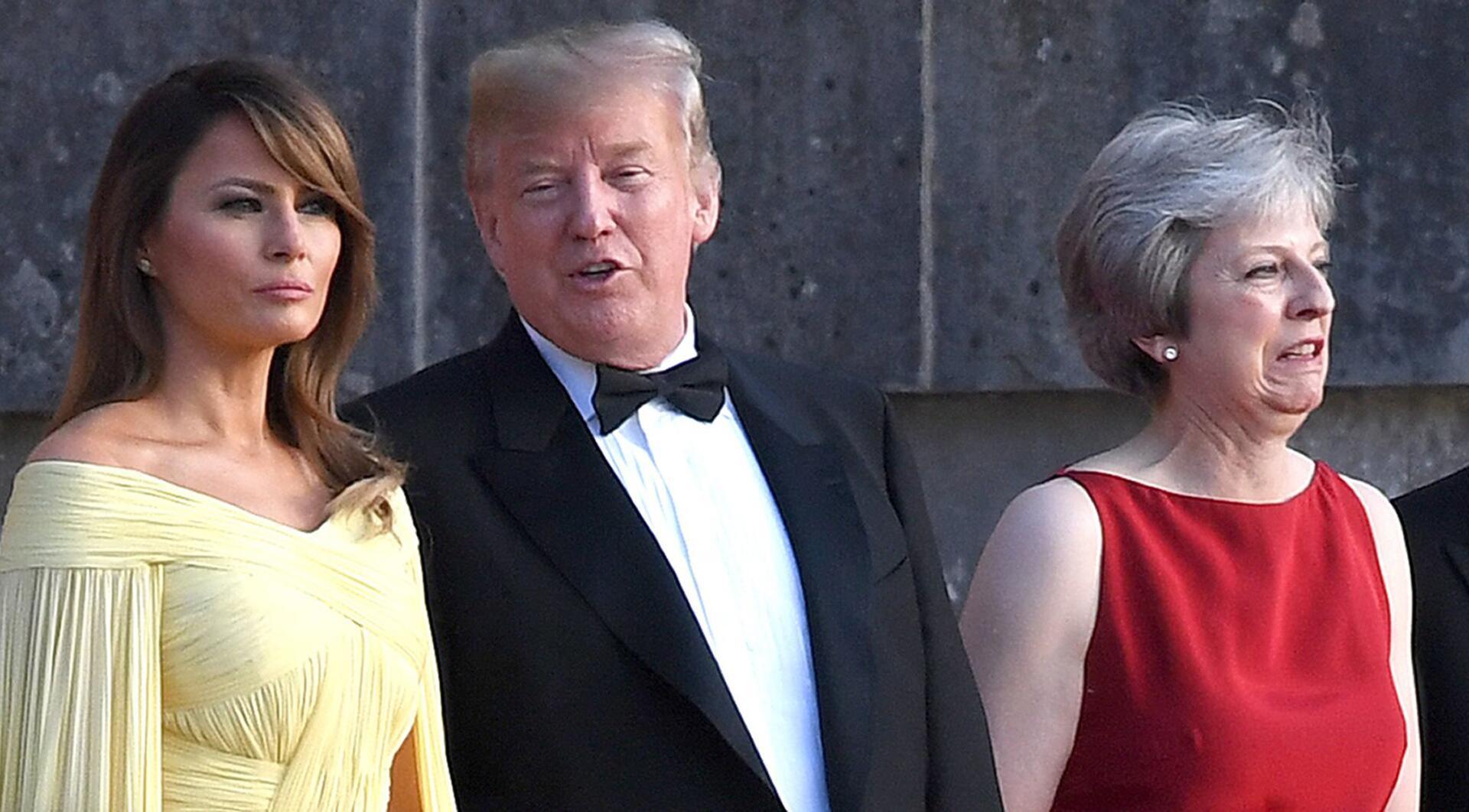 Bild zu US-Präsident Trump zu Besuch in Großbritannien