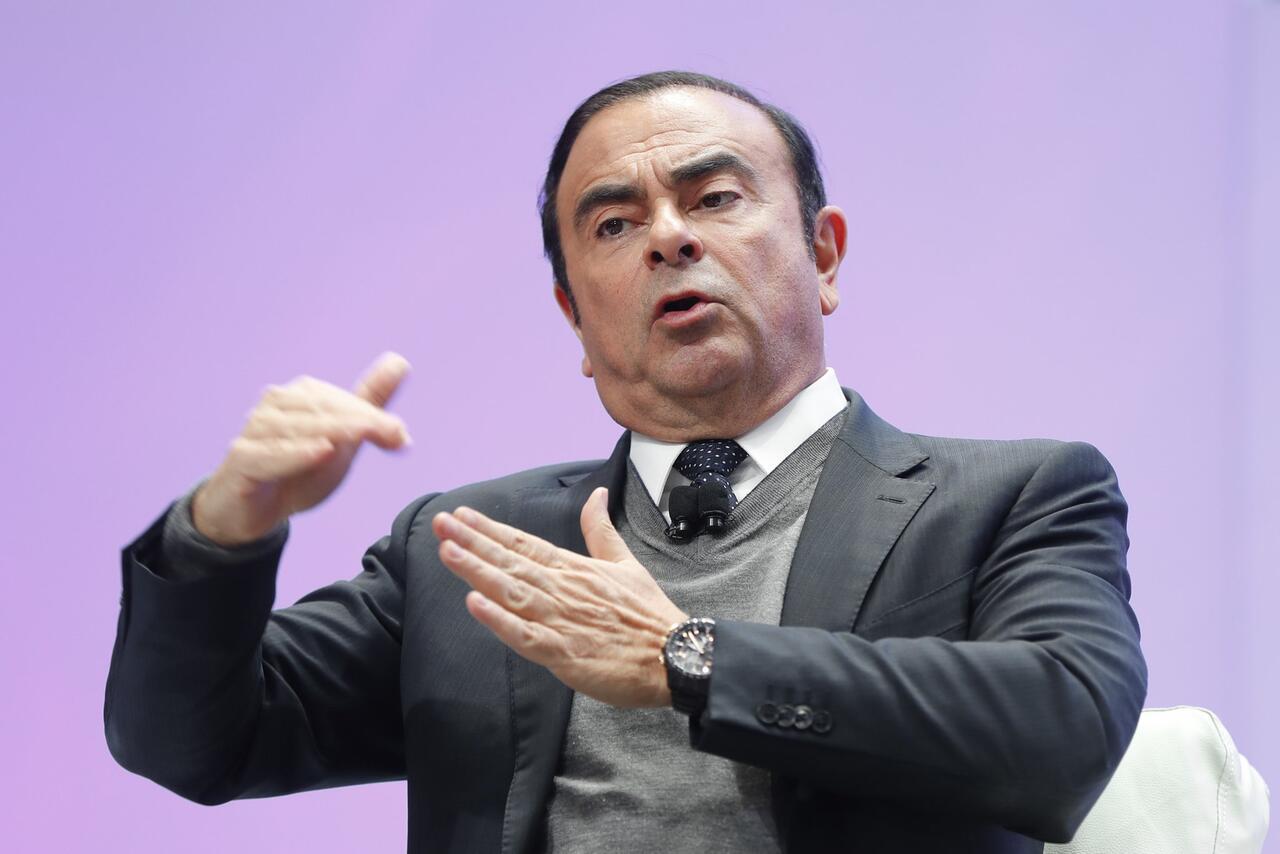 Bild zu Renault-Nissan Chef Carlos Ghosn