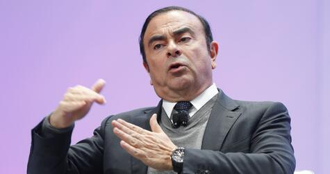 Renault-Nissan Chef Carlos Ghosn