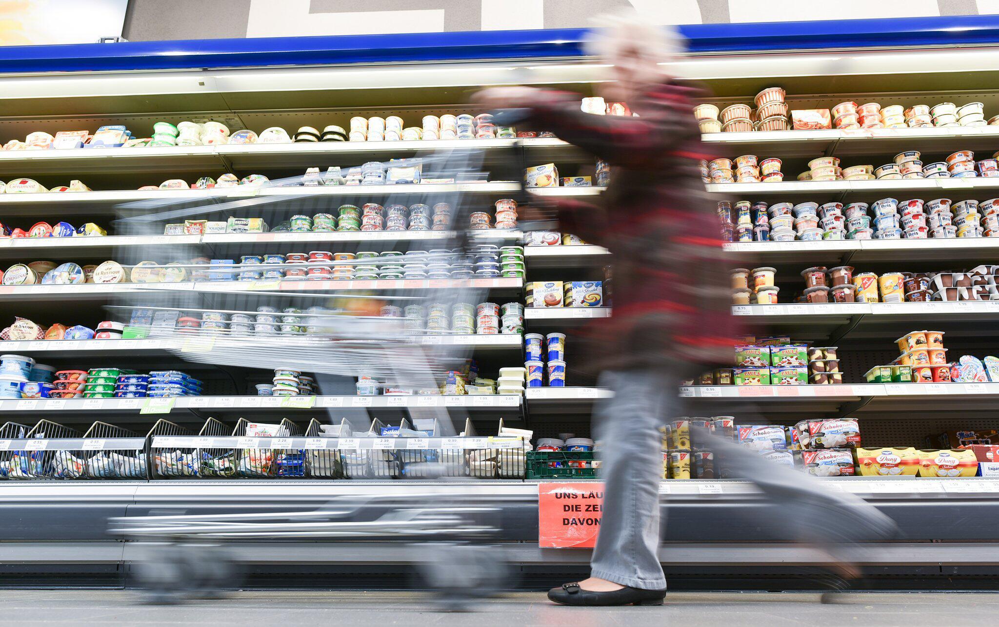 Bild zu Einkauf im Supermarkt
