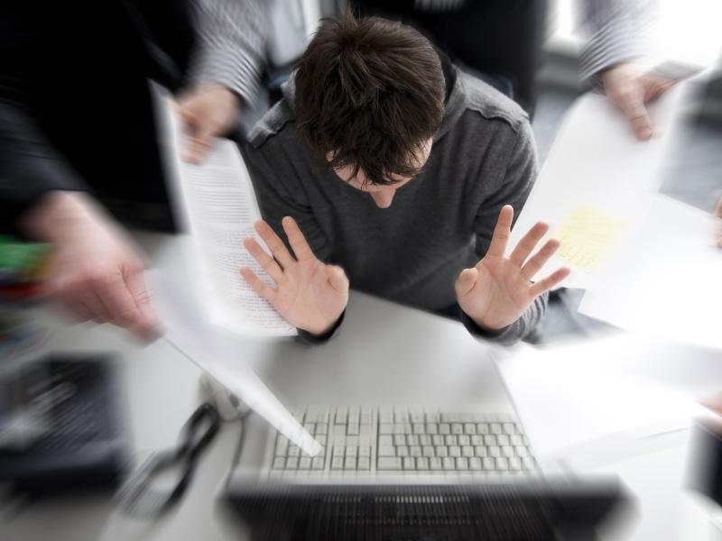 Bild zu Stress im Job