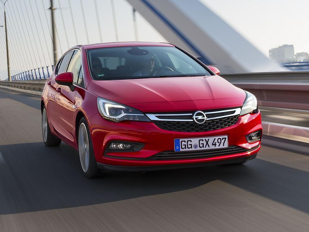 Bild zu Platz 7: Opel Astra