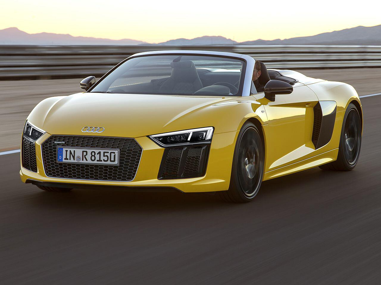 Bild zu Audi R8 Spyder V10 plus