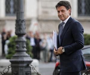 Giuseppe Conte, Sergio Mattarella