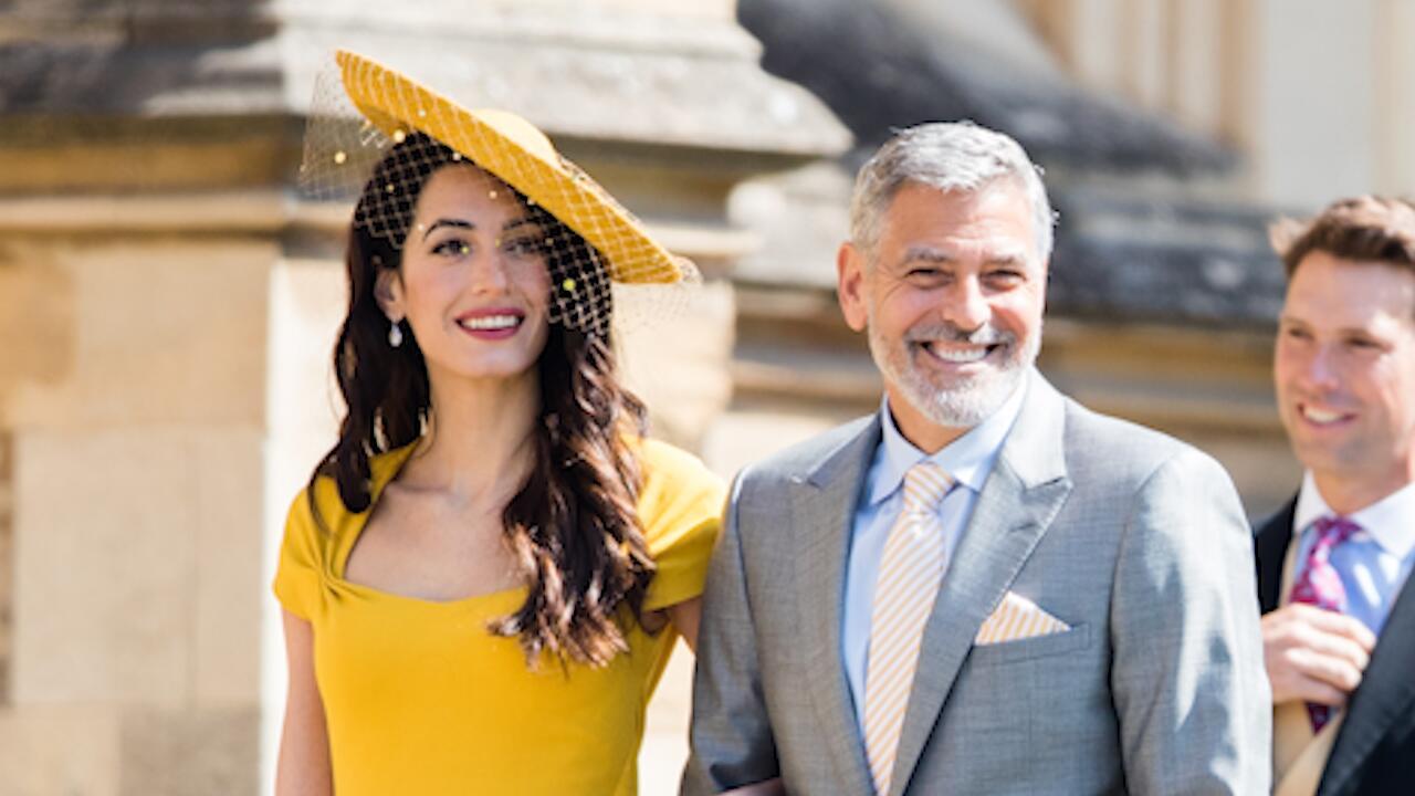 Bild zu Royale Hochzeit: Amal Clooneys Outfit war teurer als Meghans Brautkleid!