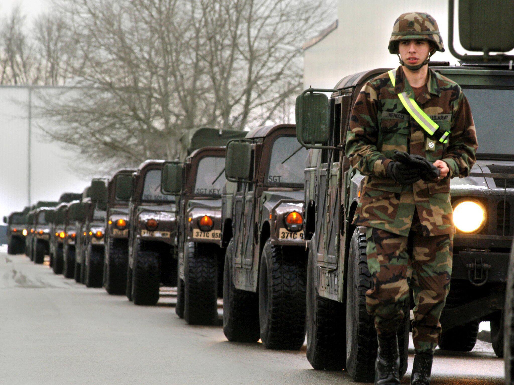 Bild zu US Soldaten in Deutschland