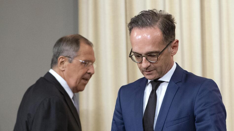 Heiko Maas trifft russischen Amtskollegen Sergej Lawrow
