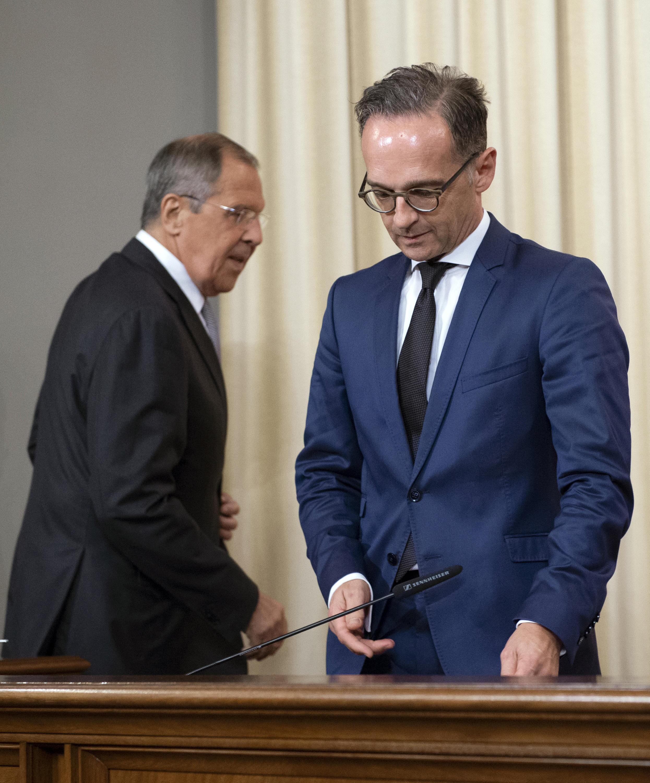 Bild zu Heiko Maas trifft russischen Amtskollegen Sergej Lawrow