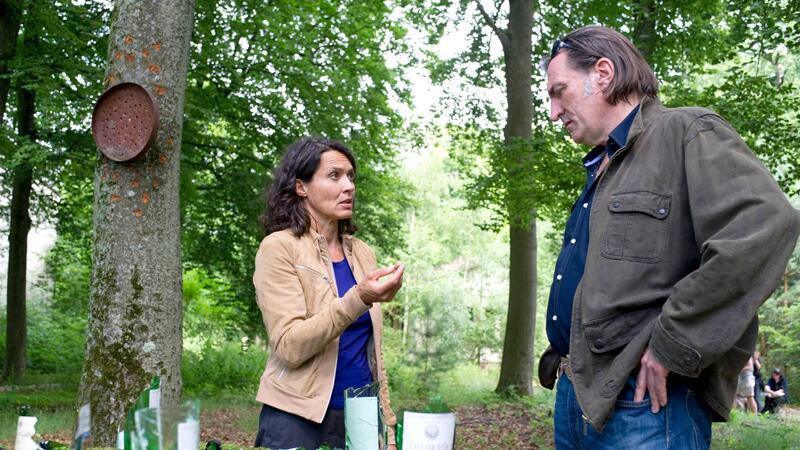 Die Ludwigshafener Kommissare Odenthal (Ulrike Folkerts) und Kopper (Andreas Hoppe) ermitteln.