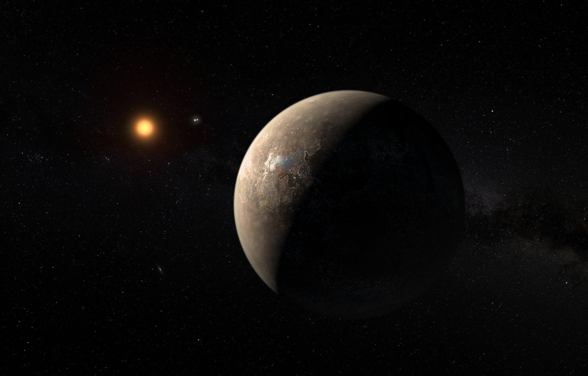 Bild zu Exoplanet - Proxima b
