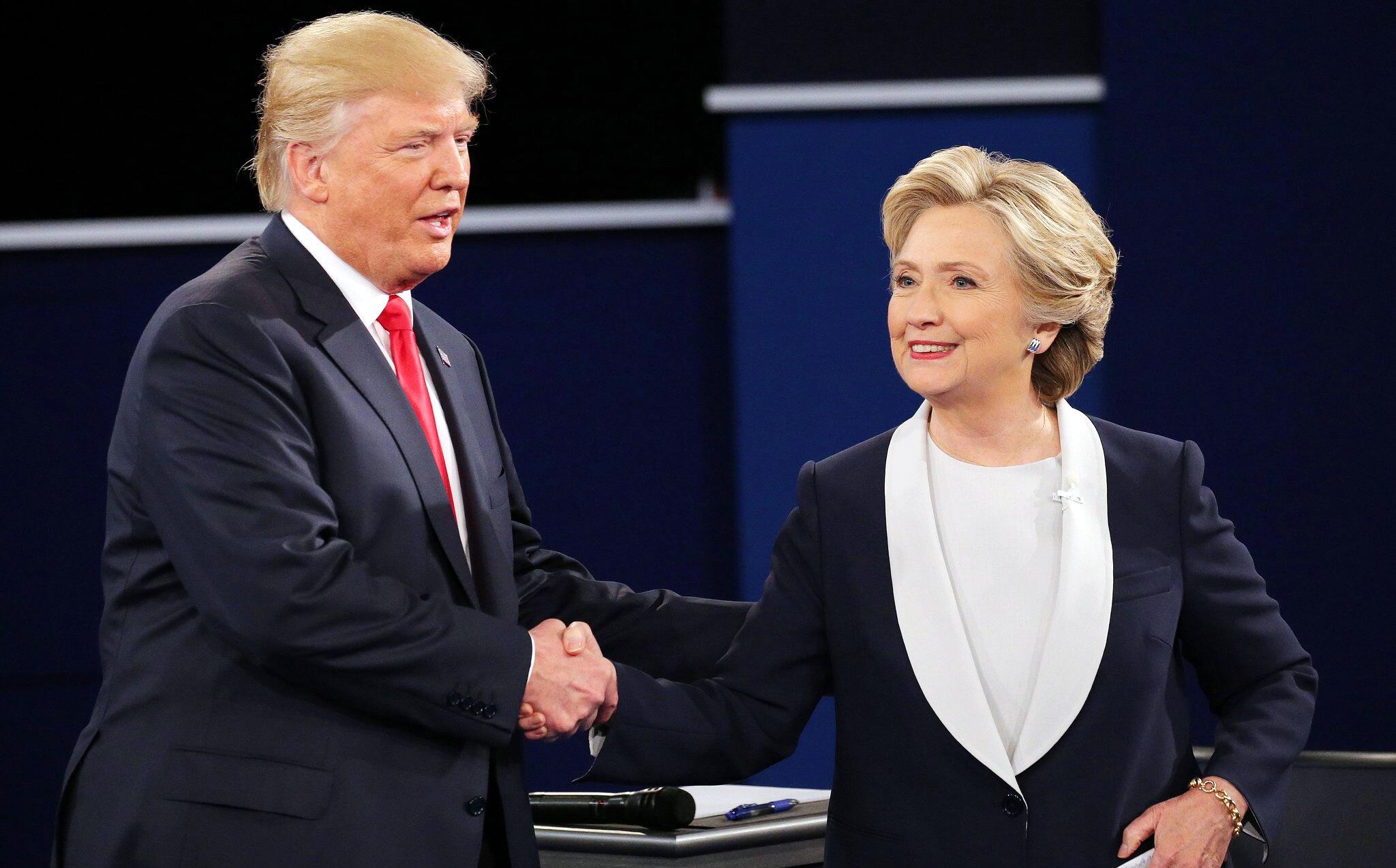 Bild zu Hillary Clinton und Donald Trump