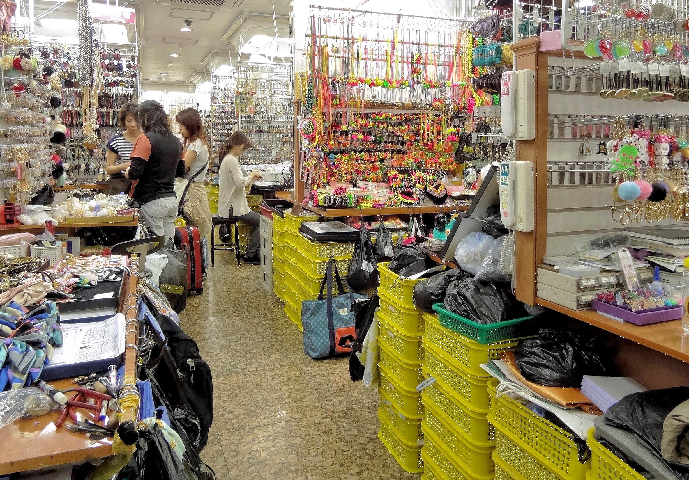Bild zu Auf einen Markt in Seoul ging die mittlerweile US-Amerikanerin verloren