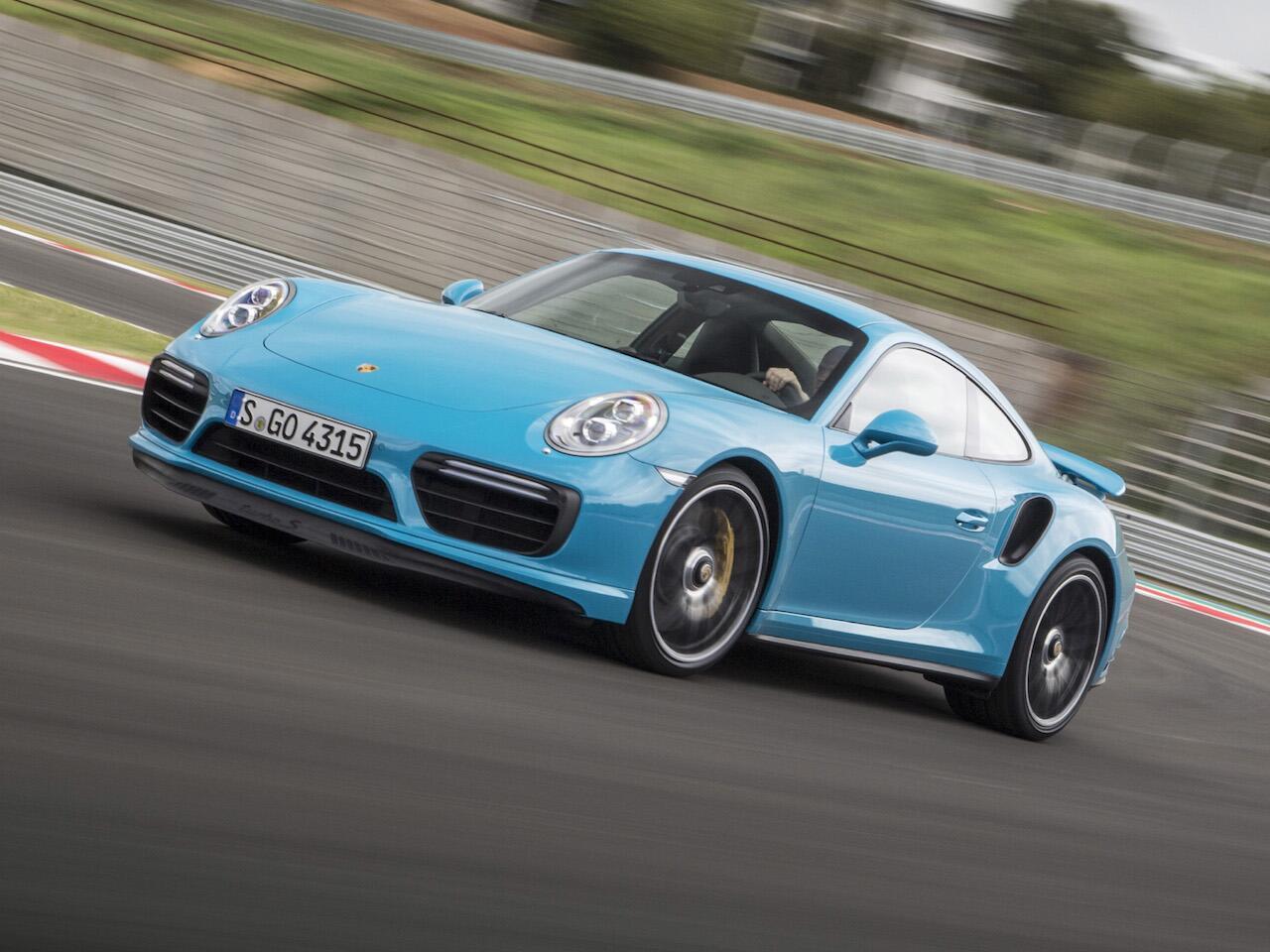 Bild zu Porsche 911 Turbo S