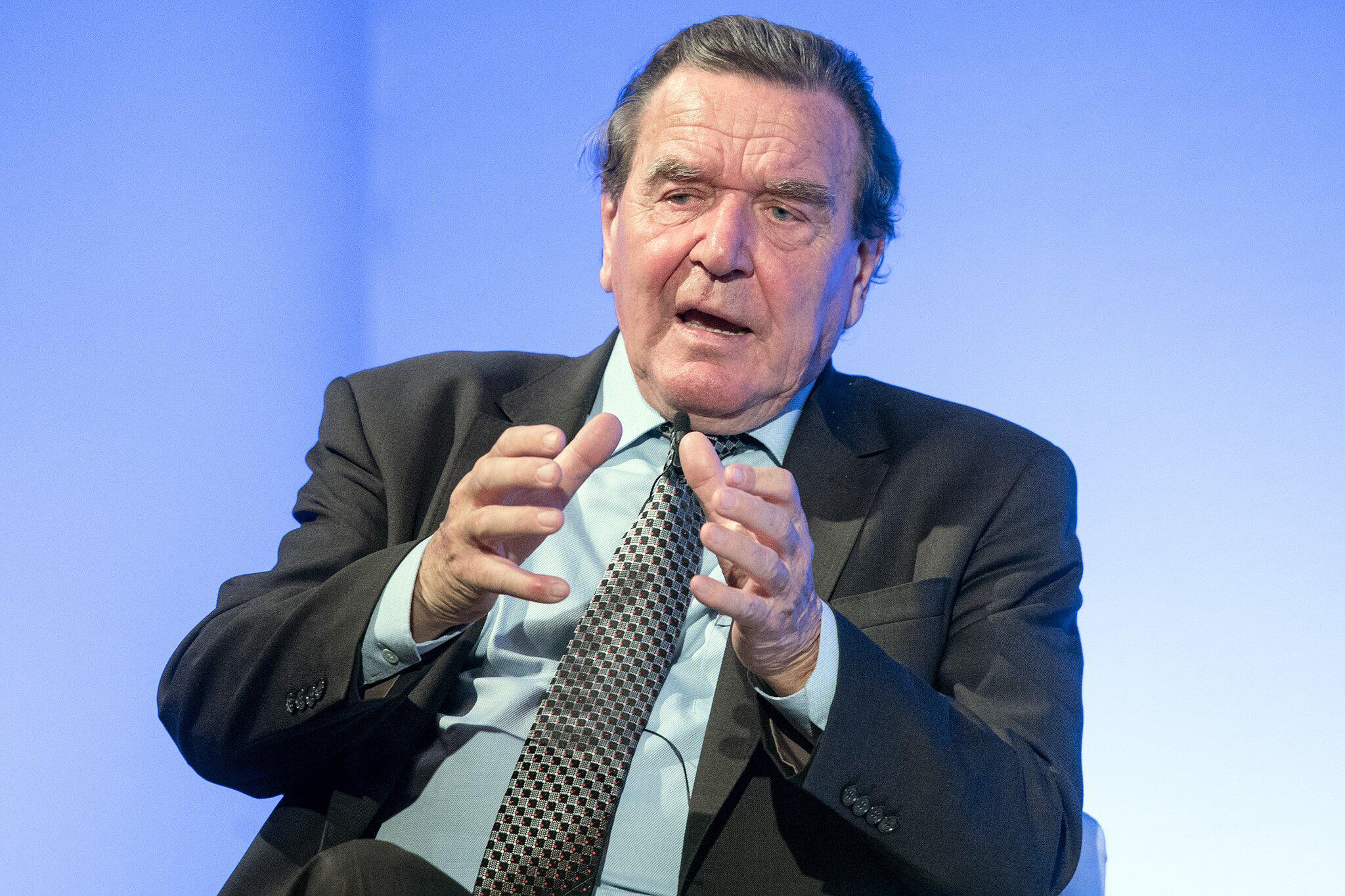 Bild zu Gerhard Schröder
