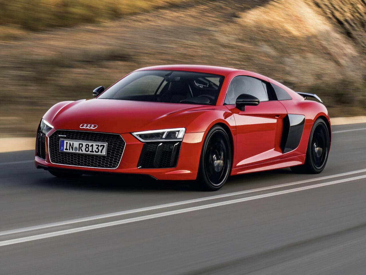 Bild zu Audi R8 V10 plus