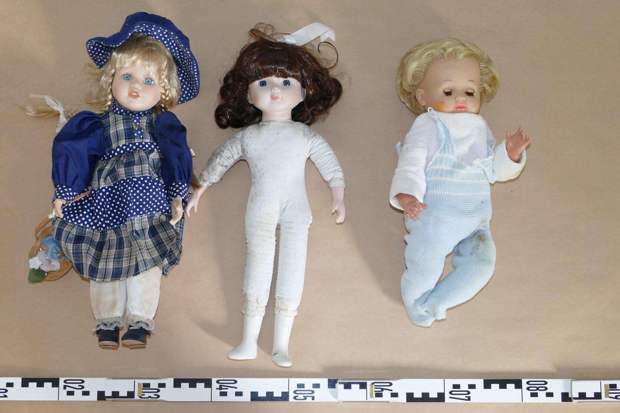 Bild zu Seltsame Puppen im Wald - Polizei löst Rätsel